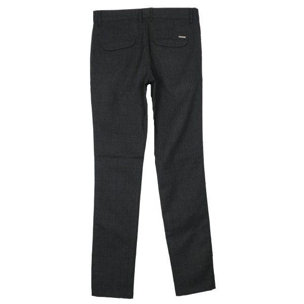 ENDESON 645 Ανδρικό Παντελόνι Καρώ Μαύρο 7
