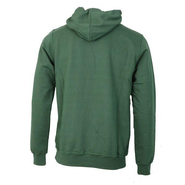 Cotton 4all 21-102 Ανδρική Μπλούζα Φούτερ Με Κουκούλα Πράσινο 4