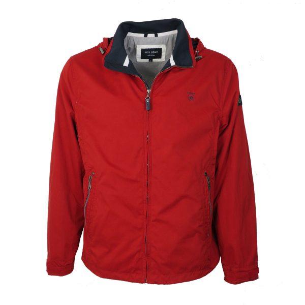 Inox Jackets 20102 Ανδρικό Μπουφάν Με Κουκούλα Κόκκινο 3