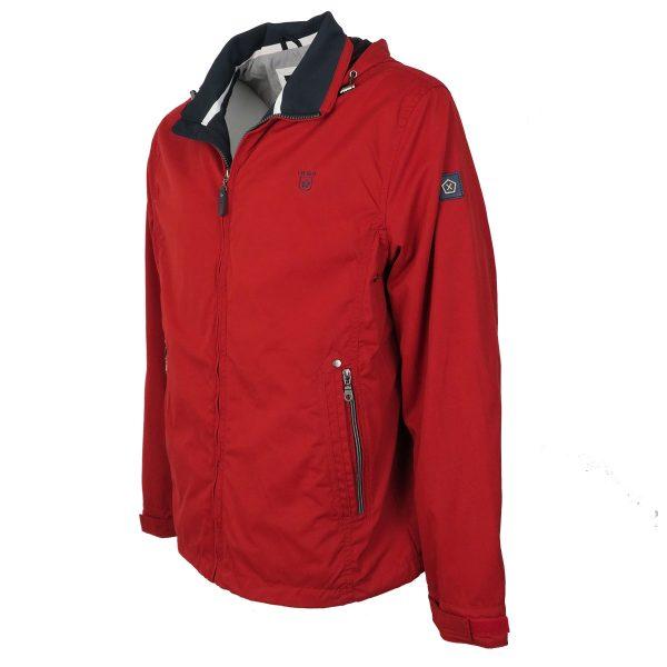Inox Jackets 20102 Ανδρικό Μπουφάν Με Κουκούλα Κόκκινο 6