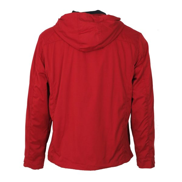 Inox Jackets 20102 Ανδρικό Μπουφάν Με Κουκούλα Κόκκινο 7