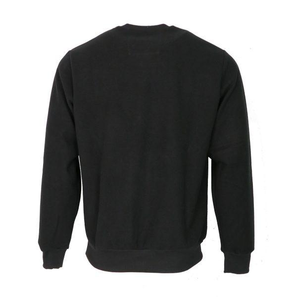 Everbest 211015-3 Big Ανδρική Μπλούζα Μαύρη 4