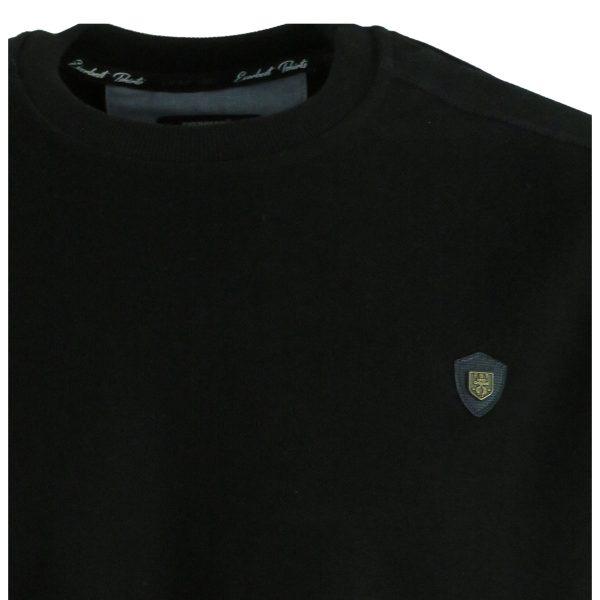 Everbest 211015-0 Ανδρική Μπλούζα Μαύρη 5