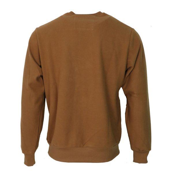 Everbest 211015-3 Big Ανδρική Μπλούζα Κάμελ 4