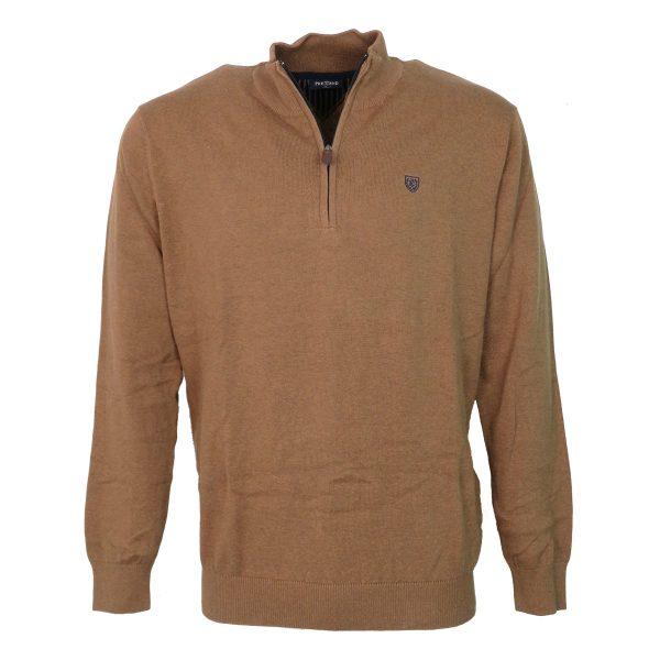 Pre End 21-100422 6529 Ανδρική Μπλούζα Πλεκτή Κάμελ 3