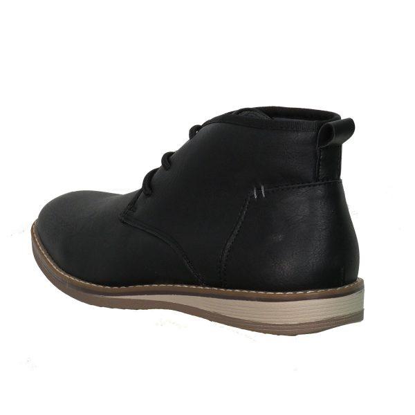 New York Tailors 034.18 ALPHA Ανδρικό Παπούτσι Μποτάκι Μαύροι 4