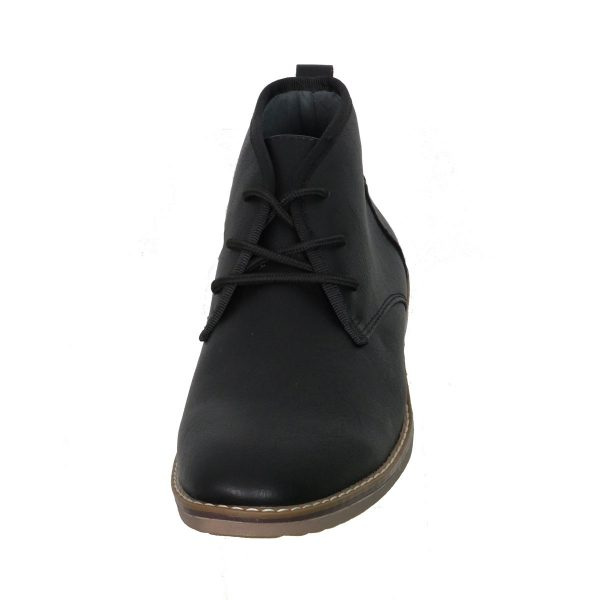 New York Tailors 034.18 ALPHA Ανδρικό Παπούτσι Μποτάκι Μαύροι 5