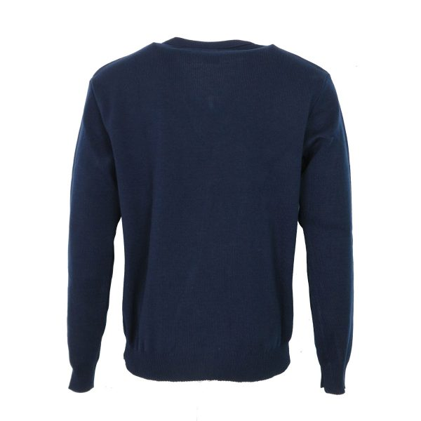 Privato 116 Ανδρική Μπλούζα Μπλέ 4