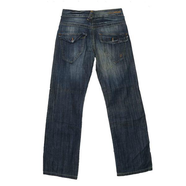 AMERIKANINO 2/A9084M5 Ανδρικό Παντελόνι Τζίν Μπλέ 4