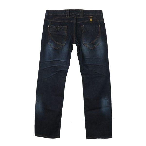 CHRIS SOYL JW-606 Ανδρικό παντελόνι Τζίν Μπλέ 4