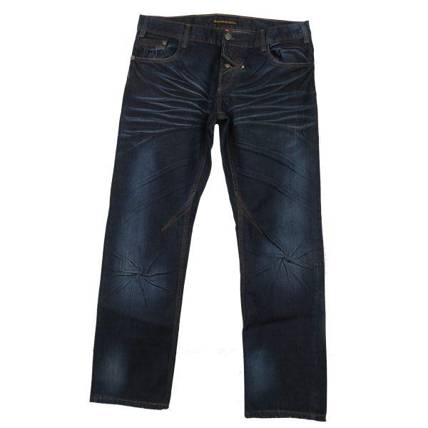 CHRIS SOYL JW-606 Ανδρικό παντελόνι Τζίν Μπλέ 3
