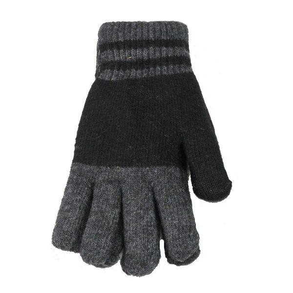 Privato OY02-ST4-4 Ανδρικά Πλεκτά Γάντια Γκρί 3