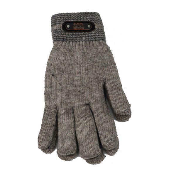 Privato OY02-ST4-3 Ανδρικά Πλεκτά Γάντια Μπέζ 3