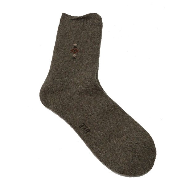 Privato 387 Ανδρικές Μάλλινες Κάλτσες Χοντρές Μπέζ 3