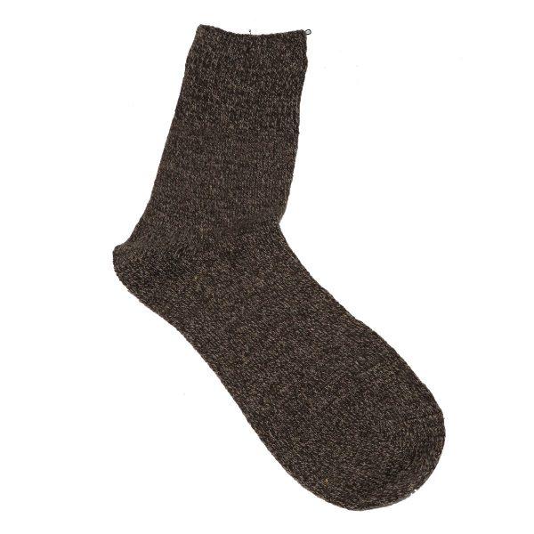Privato 1810 Ανδρική Μάλλινη Κάλτσα Χοντρή Καφέ 3