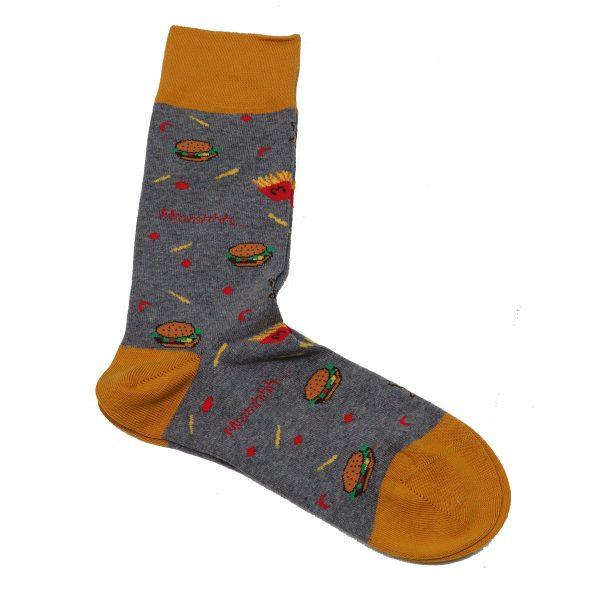 Privato K1 Ανδρική Κάλτσα Γκρί 3