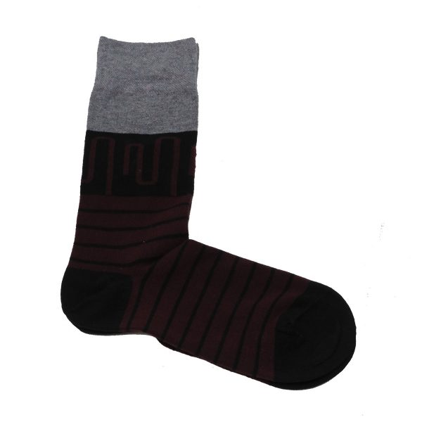 Privato K18 Ανδρική κάλτσα Μαύρη 3