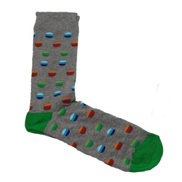 Privato K25 Ανδρική Κάλτσα Γκρί 3