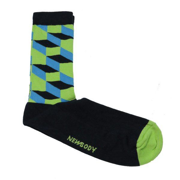 Privato K24 Ανδρική Κάλτσα Μπλέ 3