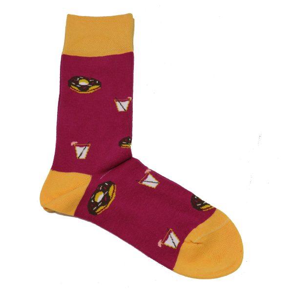Privato K3 Ανδρική Κάλτσα Φούξια 3