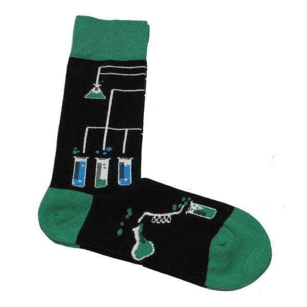 Privato K8 Ανδρική Κάλτσα Μαύρη 3