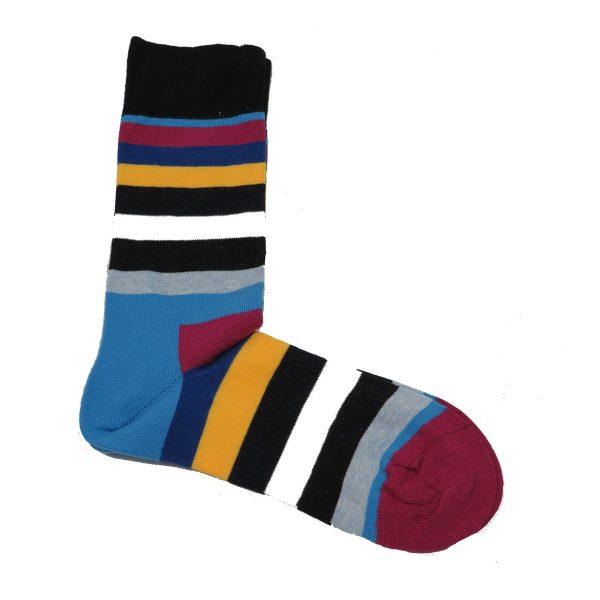 Privato K15 Ανδρική Κάλτσα Μαύρη 3