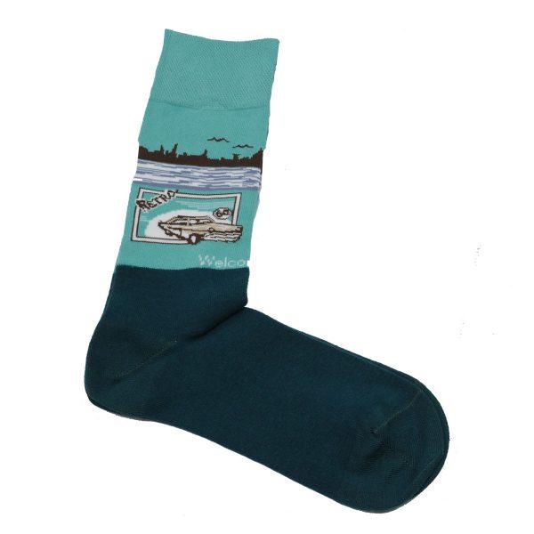 Privato K9 Ανδρική Κάλτσα Πετρόλ 3