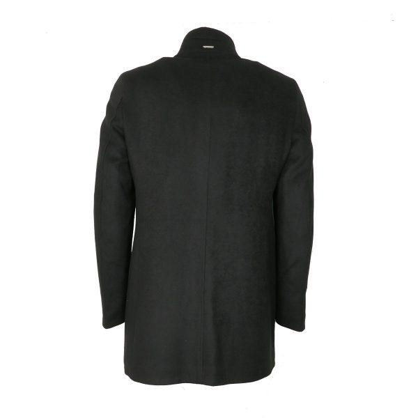 Endeson 005-1  Ανδρικό Παλτό Boss Μαύρο 5