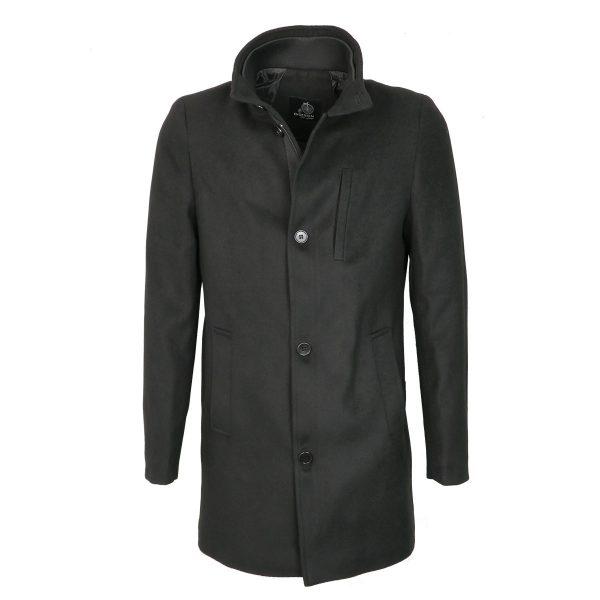 Endeson 005-1  Ανδρικό Παλτό Boss Μαύρο 3