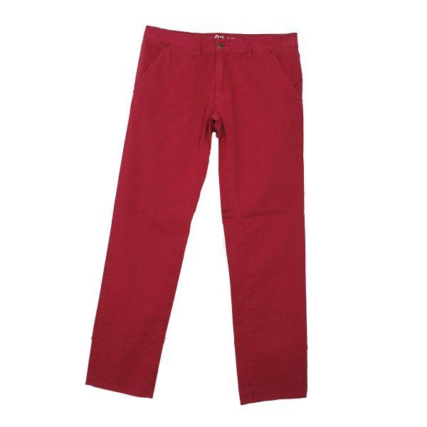 Profil 125 Ανδρικό Παντελόνι Κόκκινο Σκούρο 3