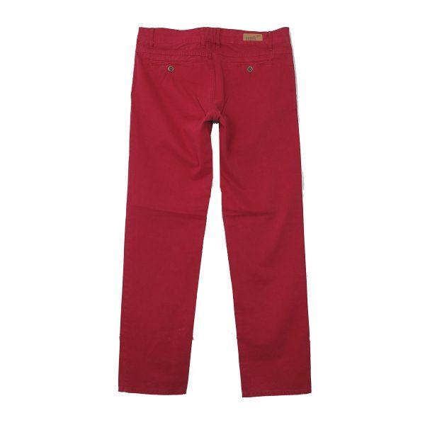 Profil 125 Ανδρικό Παντελόνι Κόκκινο Σκούρο 5