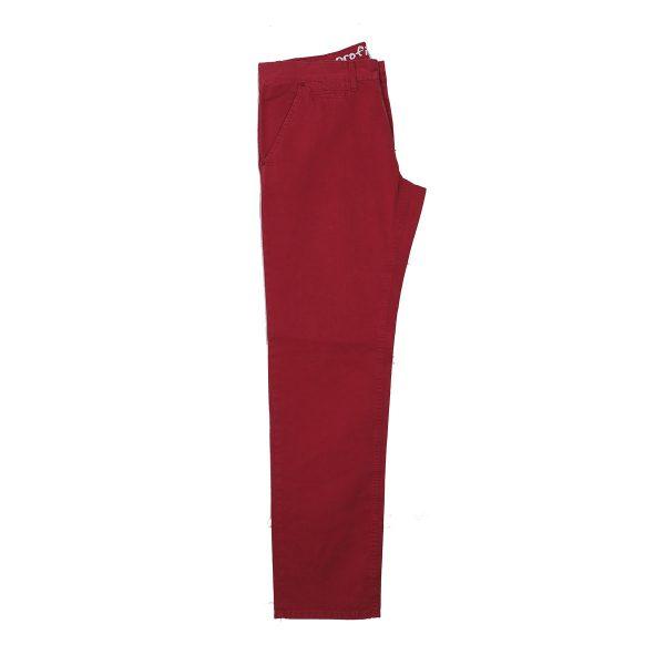 Profil 125 Ανδρικό Παντελόνι Κόκκινο Σκούρο 4