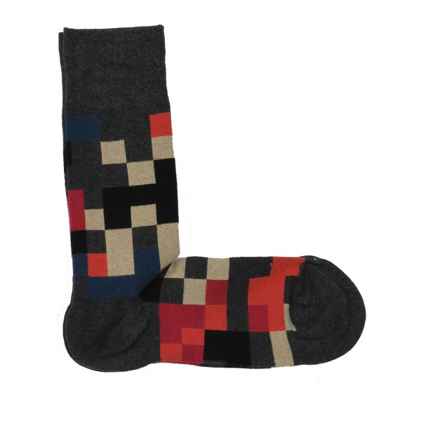 Privato K33 Ανδρική κάλτσα Γκρί 3