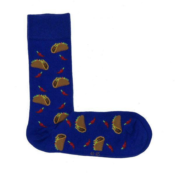 Privato K28 Ανδρική Κάλτσα Μπλέ Ρουά 3