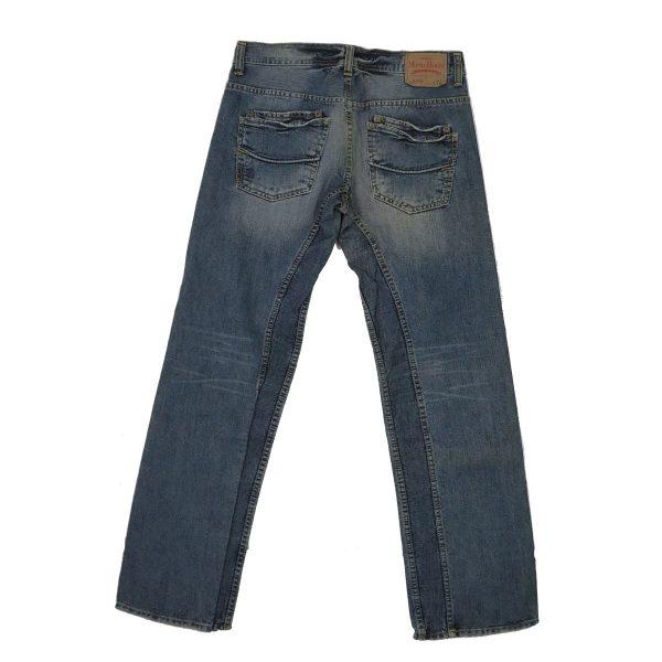 MORITZ TM437-5351/048 Ανδρικό Παντελόνι Τζίν Μπλέ 4