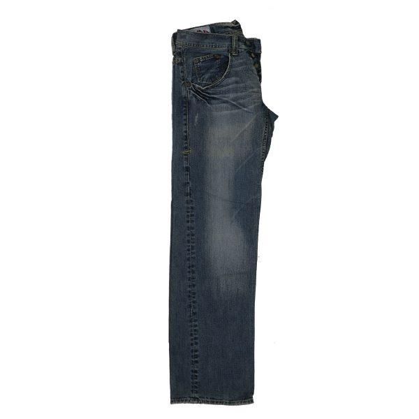 MORITZ TM437-5351/048 Ανδρικό Παντελόνι Τζίν Μπλέ 5
