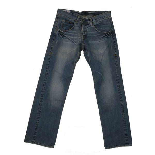 MORITZ TM437-5351/048 Ανδρικό Παντελόνι Τζίν Μπλέ 3