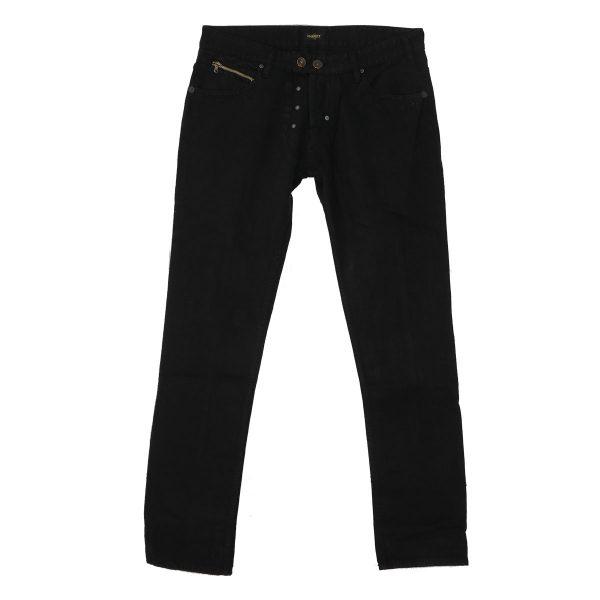 MORITZ TM714-JK Ανδρικό Παντελόνι τζίν Μαύρο 3