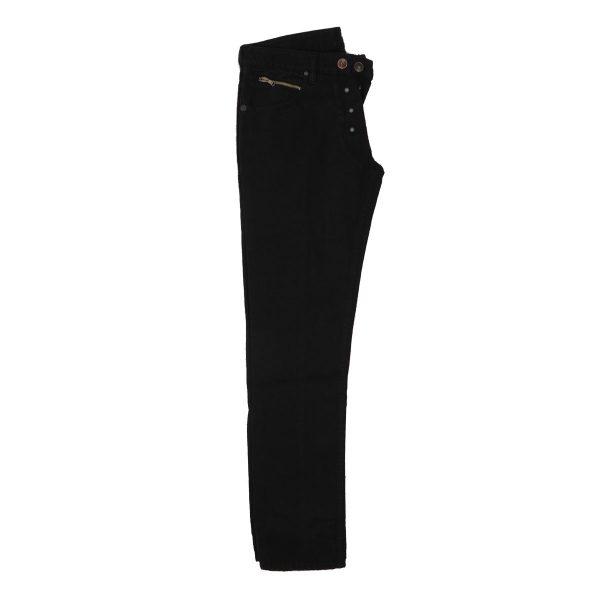 MORITZ TM714-JK Ανδρικό Παντελόνι τζίν Μαύρο 5