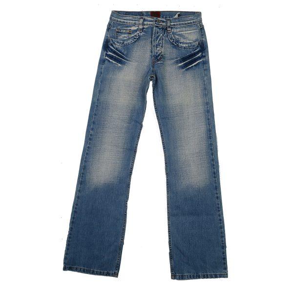 REFLEX 309 Ανδρικό Τζίν παντελόνι Μπλέ 3