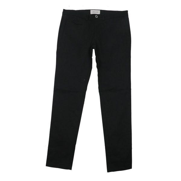 Stefan e Gio 6015-W14 Ανδρικό Παντελόνι Μαύρο 3