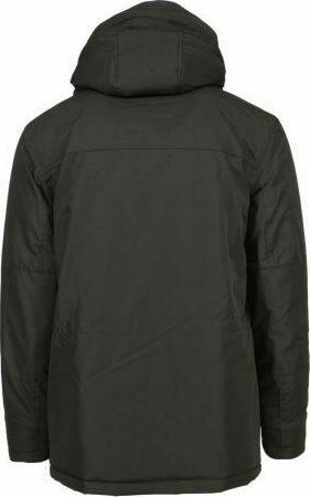 New York Tailors 022.18.ANONYMOUS Ανδρικό Μπουφάν Με Κουκούλα Μπλέ Σκούρο 4