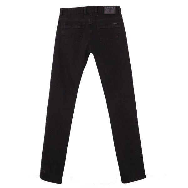 Cabell 317-F Ανδρικό Παντελόνι Τζίν Μαύρο 5