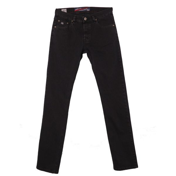 Cabell 317-F Ανδρικό Παντελόνι Τζίν Μαύρο 3