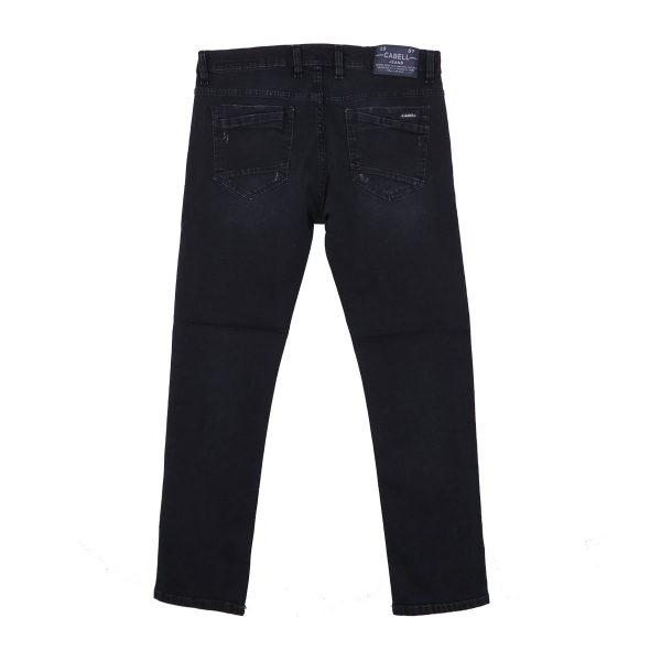 Cabell 332-7D Ανδρικό Παντελόνι Τζίν Μπλέ Σκούρο 5