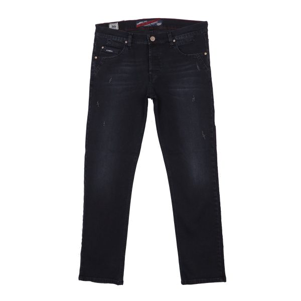 Cabell 332-7D Ανδρικό Παντελόνι Τζίν Μπλέ Σκούρο 3