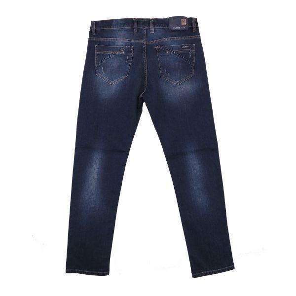 Cabell 334-2D Ανδρικό Παντελόνι Τζίν Μπλέ 4