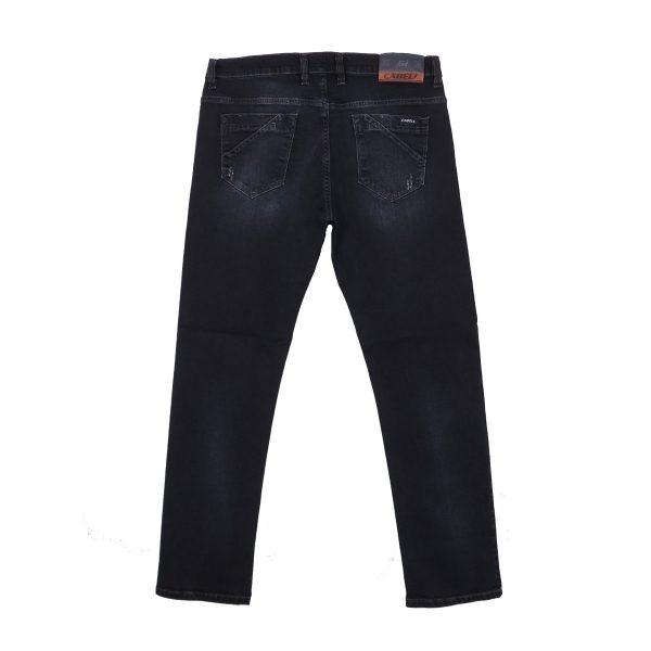 Cabell 334-4D Ανδρικό παντελόνι Τζίν Σκούρο Μπλέ 5