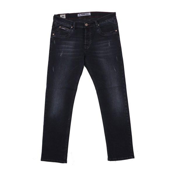 Cabell 334-4D Ανδρικό παντελόνι Τζίν Σκούρο Μπλέ 3