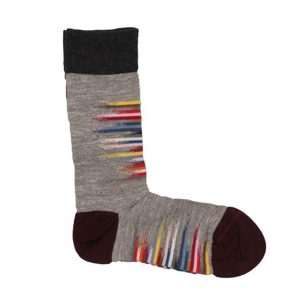 Privato K63 Unisex κάλτσα γκρί 3